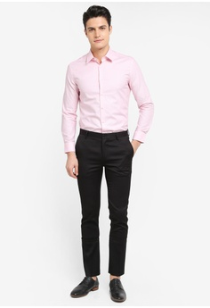 check out 3a764 f339b 52% OFF G2000 2 Tone Pattern Long Sleeve Shirt S 69.00 NOW S 33.00 Sizes 2  9