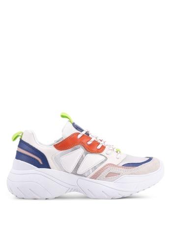 MANGO 白色 厚底運動鞋 6283ASH080DAC1GS_1