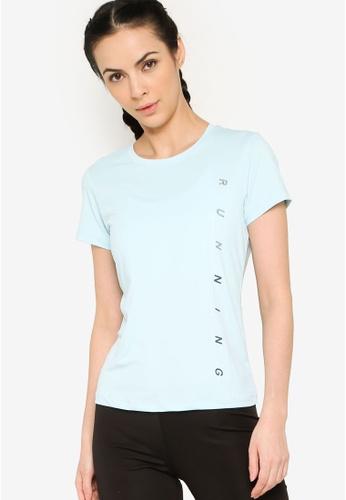 361° blue Running Series Short Sleeves T-shirt 50585AA30E29D0GS_1