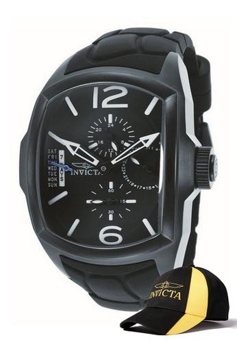 INVICTA black Invicta Lupah Men 47mm Quartz  Watch 18902 w/ Free Official Baseball Cap 3658AAC3D64E96GS_1