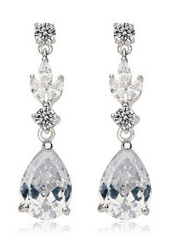Vivere Rosse silver Modern Lady Dangle Earrings VI014AC09LICMY_1