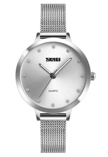 Digitec silver Skmei - Jam Tangan Wanita - Silver - Stainless Steel - 1291-B BA924ACF54838AGS_1