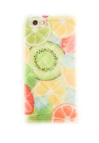 Fancy Cellphone Cases multi Citrus Soft Transparent Case for iPhone 6/6s FA644AC64ZAPPH_1