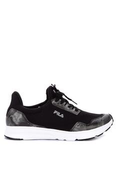 premium selection f1635 8f413 Fila black Cammo Running Shoes D4AA1SHCE9B29CGS 1