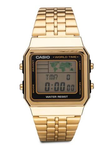A500WGA-1DF 電子不銹鋼esprit outlet 香港男錶, 錶類, 飾品配件