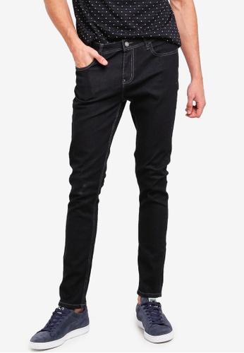 Penshoppe 黑色 緊身牛仔褲 CDBAEAA72F2317GS_1