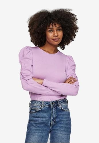 Vero Moda purple Panda Top 54F07AA3E8155DGS_1