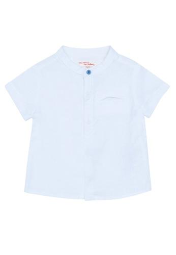 Du Pareil Au Même (DPAM) white Grandad Shirt 2C355KAFD54C5BGS_1