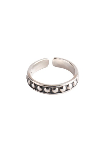 OrBeing white Premium S925 Sliver Geometric Ring 33A9BAC74D1277GS_1