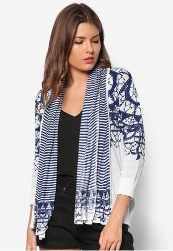 抽吸圖案針織長袖衫, 服飾, 毛衣&aesprit hong kongmp; 針織外套