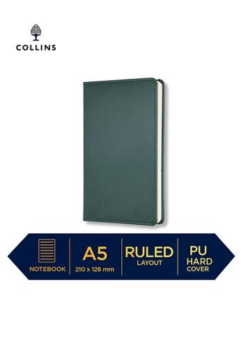 Collins green Collins William - Notebook A5 Slim Ruled Dark Green 84973HL298C221GS_1