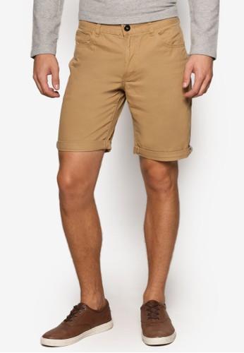 簡約修身短褲,esprit holdings limited 服飾, 短褲