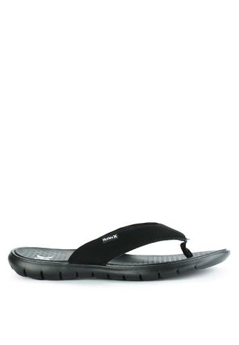 hurley black Flex 2.0  Sandal 3873ASH6C8B7A3GS_1