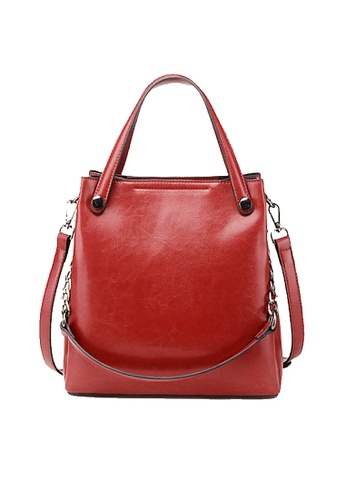 Twenty Eight Shoes red VANSA Burnished Cow Leather Hand Bag VBW-Hb9323 3A9BCAC1D4483CGS_1