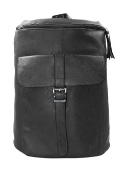 Unisex Daniel Leather Casual Daypack