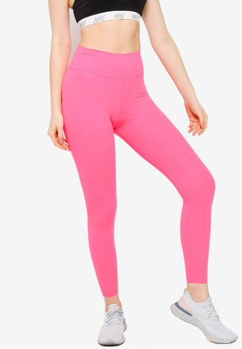 Nike pink One Luxe Women's Mid-Rise Tights 29DC2AA0528B02GS_1