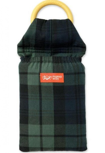 Mamaway green Clasic Plaid Baby Ring Sling 100A5KC4BF6216GS_1
