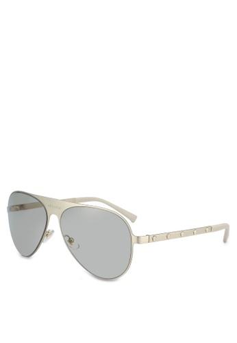 79f4a043800b Versace Sunglasses Ve 2161 10026g Gold Light Grey Silver Mirrored 42mm eBay  Source · Buy Versace Versace Sunglasses Online on ZALORA Singapore
