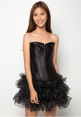 Kats Clothing black Corset     KA896US0KGEWPH_1