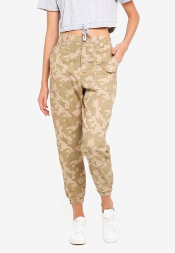 Supre beige Jordan Combat Pants 31A78AAD5B5CD5GS_1