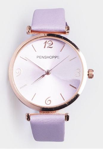 Penshoppe purple Classic Watch A4219AC2D7B4E1GS_1