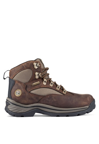 Timberland brown Chocorua Mid Waterproof Boots TI063SH0RR4CMY_1