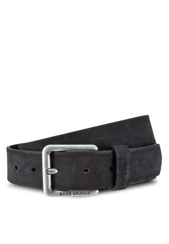 Boss Orange black Jordi Belt BO434AC0RIDEMY_1