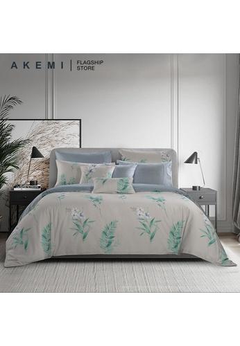 AKEMI green AKEMI Cotton Select Adore - Flove (Fitted Sheet Set). 1E566HLCC23307GS_1