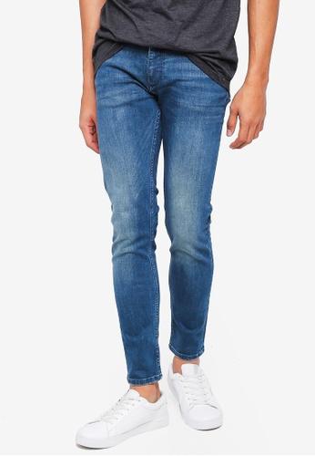 MANGO Man green Skinny Faded Green Wash Jude Jeans 2A55CAA4630339GS_1