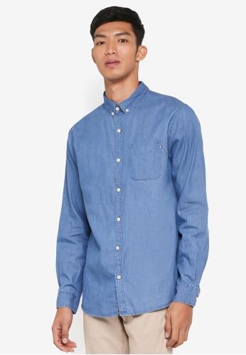 Cotton On blue Brunswick Shirt BC2A6AA5EB23EAGS_1