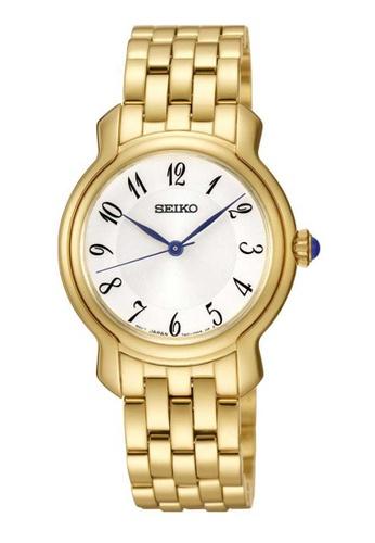 Seiko gold Seiko Gold Stainless Steel Watch ECF26ACB22B429GS_1