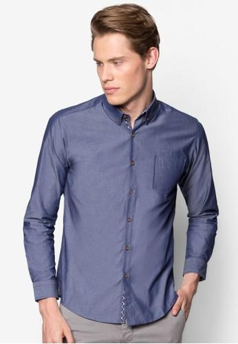 修身esprit taiwan長袖襯衫, 服飾, 襯衫