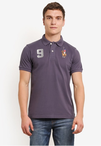 MILANO grey Embroidered Polo Shirt MI248AA0S1N6MY_1
