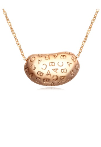 Urban Outlier gold Crystal Necklace 108647 80743ACF7BF16FGS_1