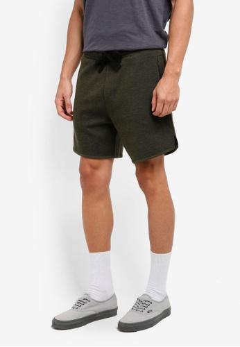 Cotton On green Coar Performance Double Knit Shorts 646DDAA398647AGS_1