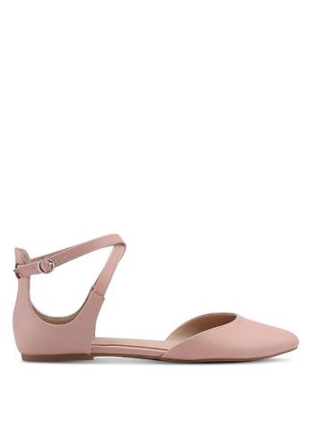 ALDO pink Falorisa Flats 8F2B0SH0FB3975GS_1