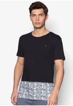 Spliced Printed T-Shirt