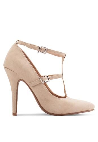 Strappy Buckle Pump Heels