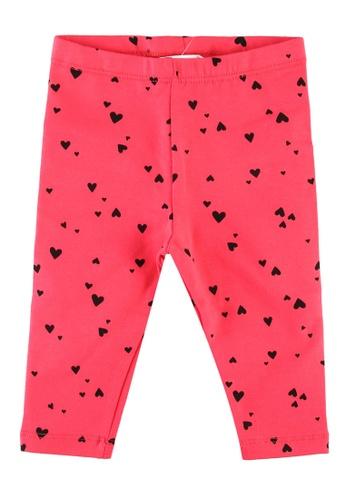 FOX Kids & Baby pink Baby-Girls All Over Print Leggings 52E1DKADC32A25GS_1