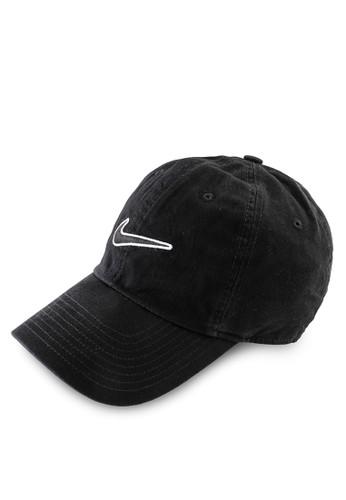 Nike black Unisex Nike Sportswear Essentials Heritage86 Cap 93DBBAC5E18609GS_1