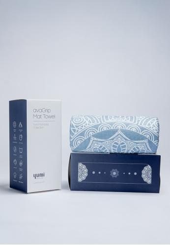 Yumi Active blue Yumi Active avaGrip Mat Towel Zen Galaxy (Moonlit Blue) 30134AC46F40FEGS_1