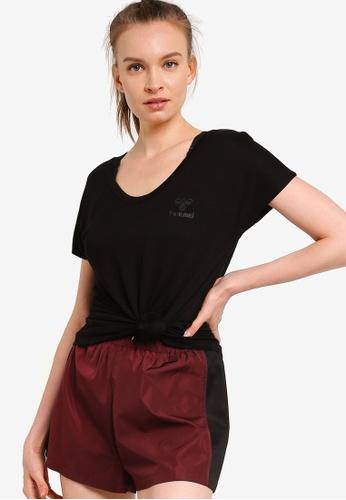 Hummel black Hummel Hmljeremys Short Sleeves T-Shirt 8AFB5AA894F63CGS_1