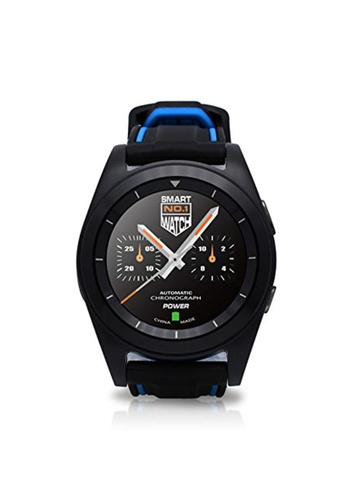 DT black DT G6 Sweatproof Sports Bluetooth Smartwatch with Rubber Strap DT073SE95AEEPH_1