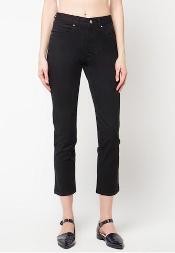 TRISET Ladies black Five Pocket Basic Pants 019 TR970AA09JICID_1