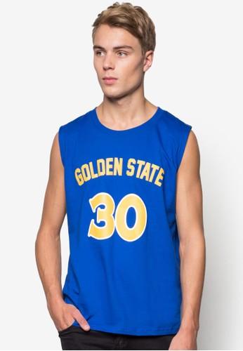 Golden State #30 籃esprit服飾球風背心, 服飾, 背心