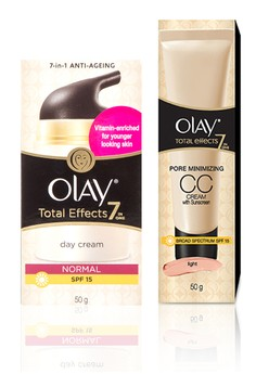 Total Effects Day Cream Normal with Free CC Cream