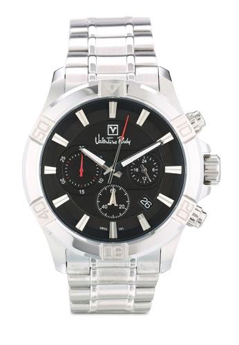 Valentino Rudy silver Valentino Rudy VR101-1332 Silver/Black Watch VA909AC0RBEAMY_1