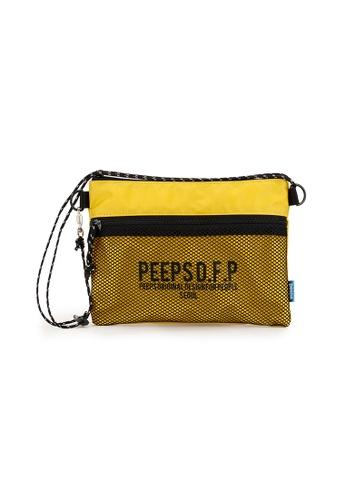 Peeps yellow Bright Sacoche Bag 08069AC9A52CBDGS_1