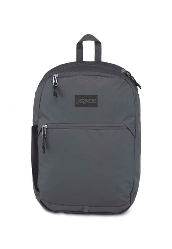 Jansport grey Jansport Hayes Backpack Deep Grey Ripstop - 24L 8AD90AC58A46CFGS_1