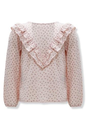 Osella Kids pink Osella Baju Anak Perempuan Blouse Lengan Panjang Pink 4919AKAB9257A7GS_1